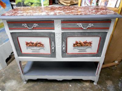 mobilier peint ,ecorecyclage mobilier, recyclage ameublement et ...